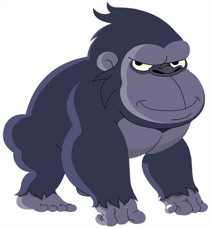 gorilla: Gorilla Cartoon