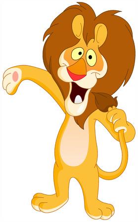 niño cantando: León de canto