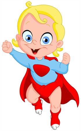 chico: Héroe de bebé volando