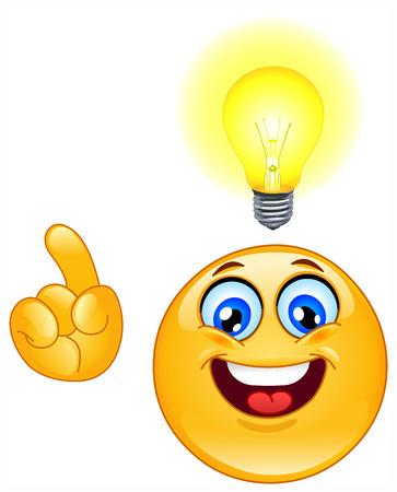 smiley content: Avoir une �motic�ne id�e