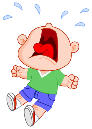 crying boy: Ni�o llorando