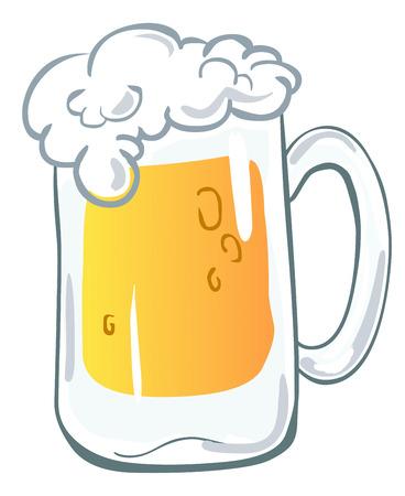stout: Jarra de cerveza  Vectores