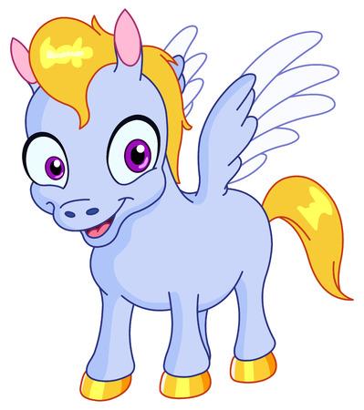 Young Pegasus Vector