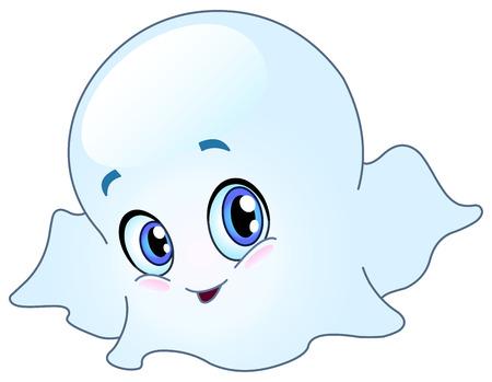 Baby ghost Vector