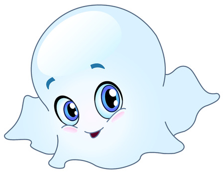 anime eyes: Baby ghost