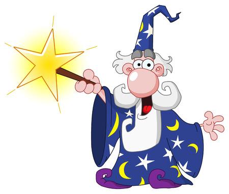 Wizard Stock Vector - 7995940
