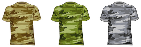 steins: Military-style shirts for men