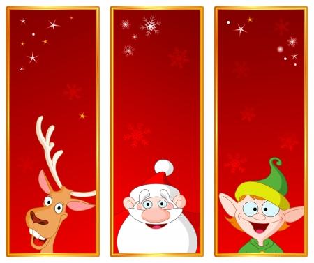 Christmas banners Stock Vector - 8164362
