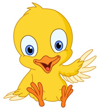 chick: Sexy chick agitando Vectores