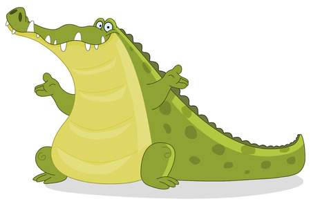 Crocodile Stock Vector - 8767330