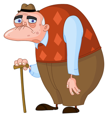grumpy: Oude man