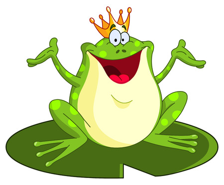 fairytale character: Frog prince Illustration