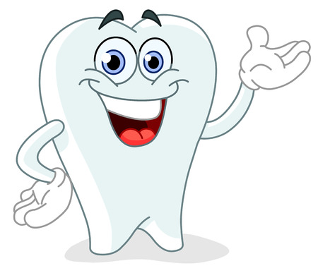 smile  teeth: Cartoon tooth Illustration