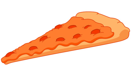 pizza pie: Pizza slice