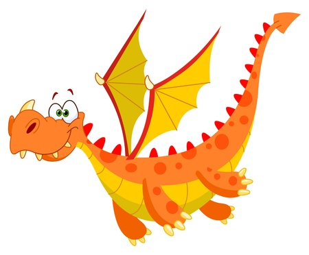 dinosaur animal: Flying dragon