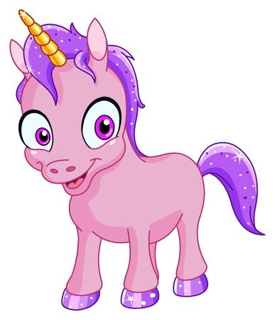 unicorn: Smiling unicorn