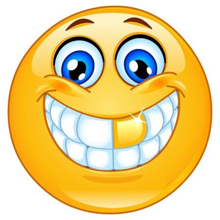 smiles: �motic�ne dent or