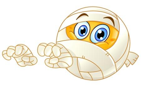 bandages: Mummy emoticon