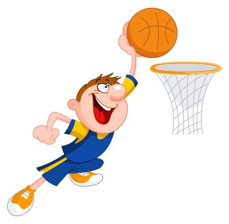dunk: Basketball kid