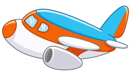 toy plane: Cartoon plane