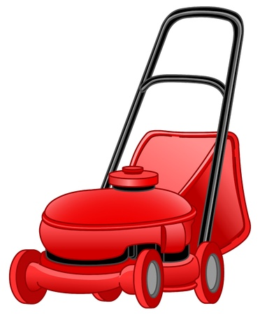Lawn mower Stock Vector - 10451688