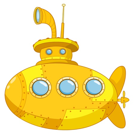 cartoon submarine: Submarine