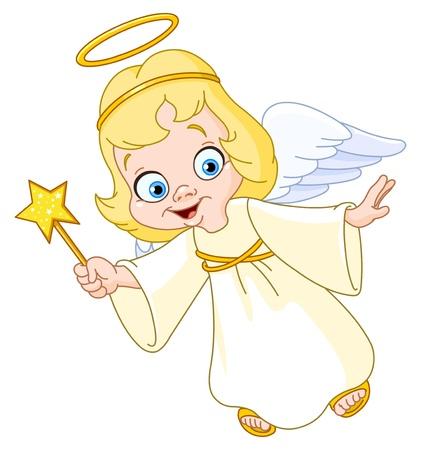 baby angel: Angelo di Natale