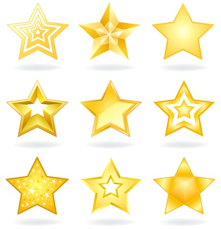 star award: Star icons Illustration