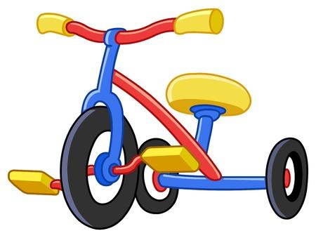 circus bike: Los triciclos de colores