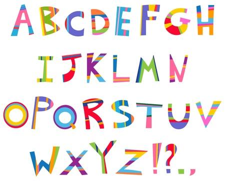 tiras comicas: Diversi�n alfabeto