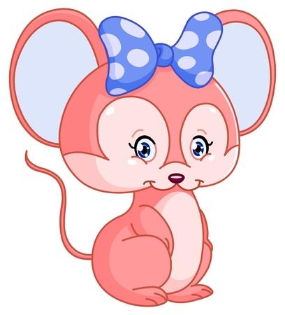 myszy: Słodki mysz Ilustracja