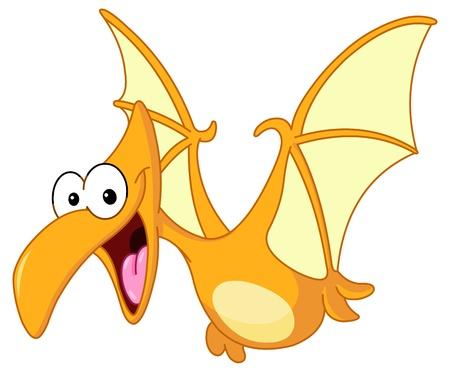 dinosaurio: Pterodactyl dinosaurio volador