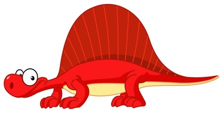 Spinosaurus dinosaur Vector