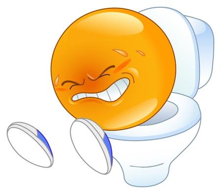 diarrea: emoticon caca