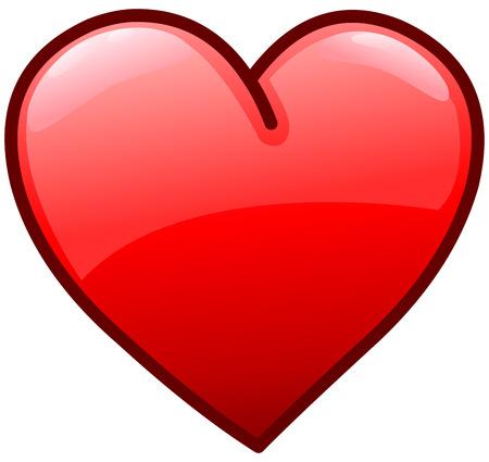 Corazón icono Vectores