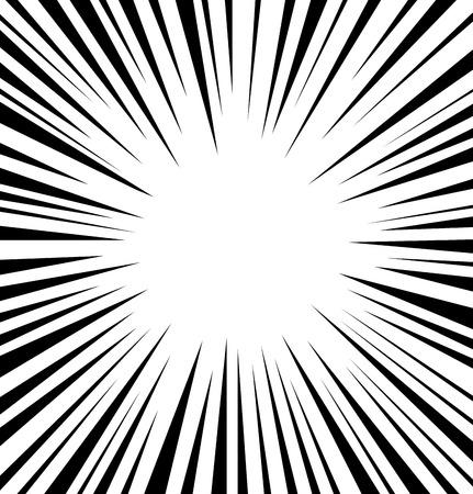 Comic snelheid radiale achtergrond