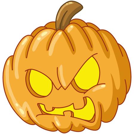 malice: Angry pumpkin