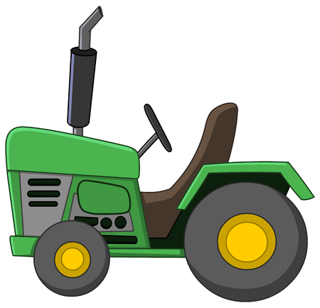 Cartoon Tracteur