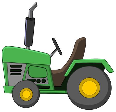 Historieta Tractor Foto de archivo - 46997713