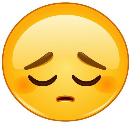 Pensive emoticon