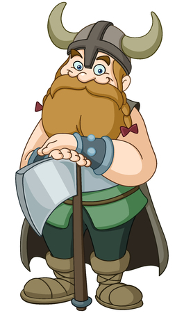 Viking warrior with axe
