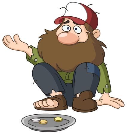 homeless: Homeless beggar