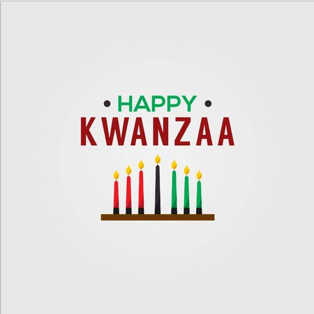 happy kwanzaa design template