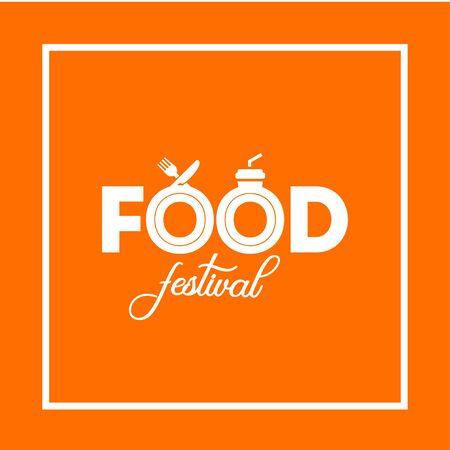 Food Festival Vector Design Template Vector Illustration