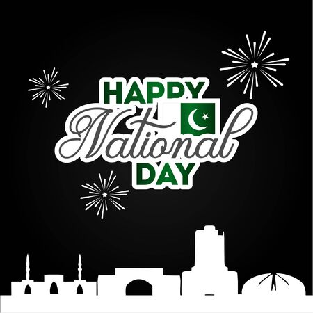 Pakistan Independence Day, National Day Vector Design For Celebrate Moment