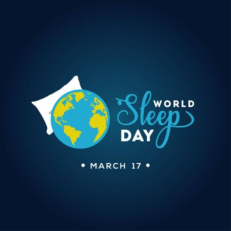 World Sleep Day Vector Design For Banner or Background Illustration