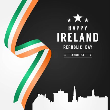 Ireland Independence Day Vector Design For Banner or Background