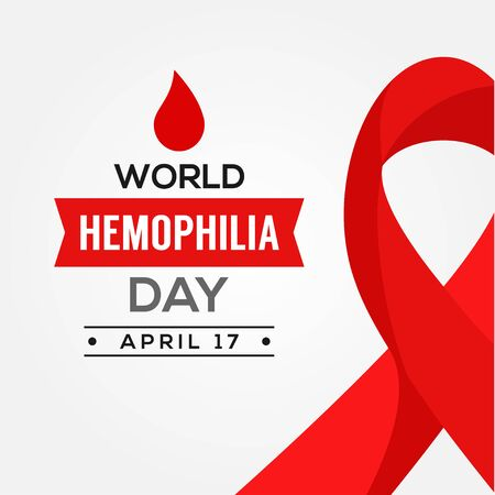 World Hemophilia Day Vector Design Illustration For Humanity Moment