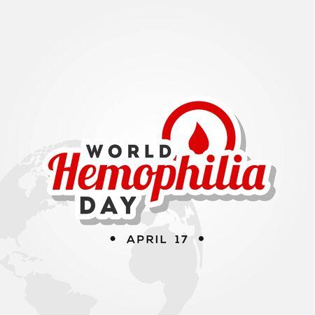 World Hemophilia Day Vector Design Illustration For Humanity Moment Vector Illustration
