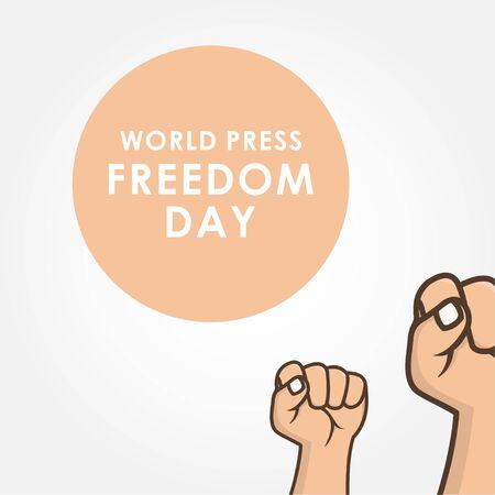World Press Freedom Day Vector Design Illustration For Celebrate Moment